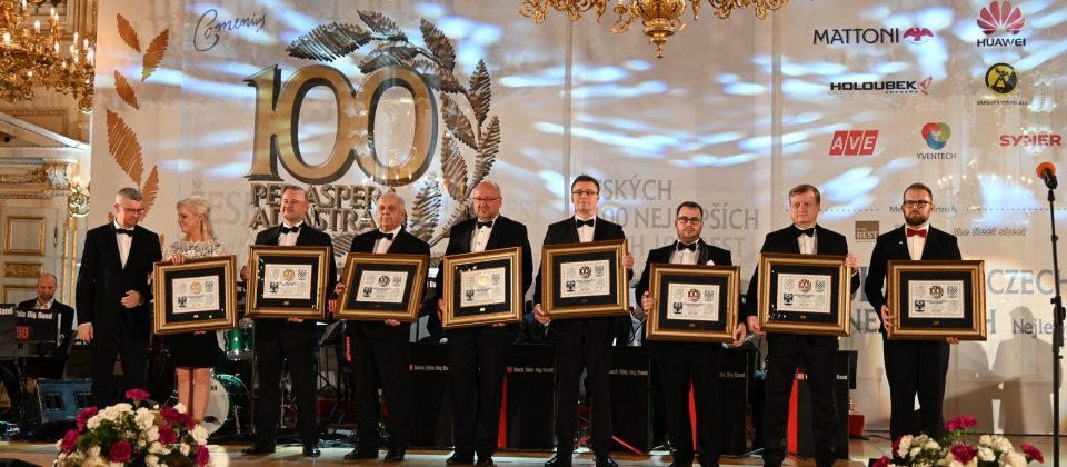 Reportáž z předávání ceny Českých 100 Nejlepších